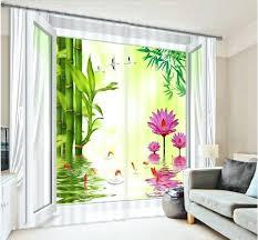 stunning palm tree curtains contemporary design ideas 2018