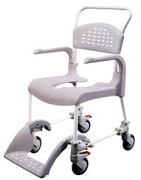 Commode Chair Over Toilet Etac Clean Wheeled Toilet Chair Shower Chair Grey Height 44 Cm