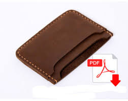 leather wallet pattern leather pattern purse pattern leather