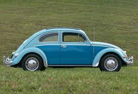 blue volkswagen beetle 1957 volkswagen beetle fast lane classic cars