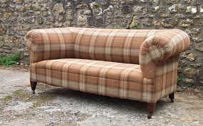 Tartan Chesterfield Sofa The Upholstress Antique Chesterfield Sofa