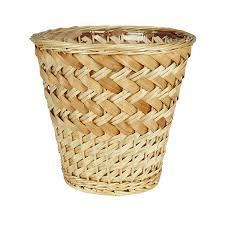 household essentials ml 6692 woven water hyacinth wicker waste