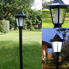 Outdoor Solar Lamp Post by Good Outdoor Solar Power Led Path Way Wall Landscape Mount Garden