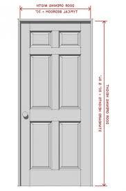 Interior Doors Sizes Emejing Standard Bedroom Door Size Images Decorating Design