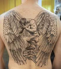 best 24 angel tattoos design idea for men and women tattoos art