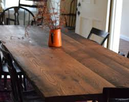 Edge Walnut Dining Set U2013 by Reclaimed Wood Dining Table Etsy