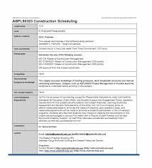 21 construction schedule templates in word u0026 excel template lab