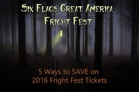 How Much Is A Six Flags Ticket At The Gate Jewel Fright Fest Tickets