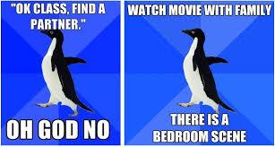 Socially Awkward Penguin Memes - socially awkward penguin the meme we can all relate to