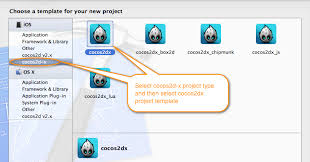 setting up cocos2d x in mac osx for ios game development
