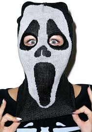 scream halloween mask night scream knit mask dolls kill