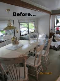 Living On One Dollar Trailer by Mobile Home Decorating Beach Style Makeover Room Bath And