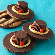 homemade thanksgiving cookies pilgrim hat cookies recipe taste of home