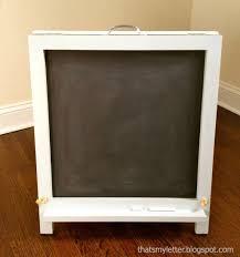 home decoration affordable white folding chalkboard easel design