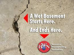 Basement Waterproofing Methods by Basement Waterproofing Nationwide Making Damp And Wet Basements