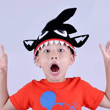 Shark Costume Halloween Halloween Shark Costume Hat Teeth Tail Creative Black