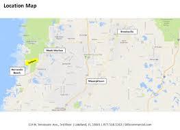 Eustis Florida Map by Southwest Florida Water Management District Surplus Properties
