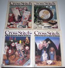 4 cross stitch u0026 country crafts magazines july sept 1987 may july