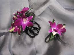 prom corsage ideas cobblestone design company weddings and events prom