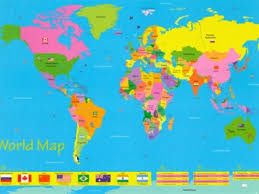 clear world map with country names incultureparent 10 best world maps for your children s room