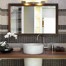 Bathroom Mirrors Houzz Framed Bathroom Mirror Houzz Regarding Mirrors Inspirations 17