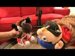 Jeffy Puppet by Image Black Yoshi Yells At Jeffy Png Supermariologan Wiki