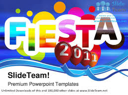American Flag Powerpoint Background Fiesta Live 2011 Events Powerpoint Templates Themes And