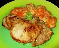 cuisiner une cote de veau côtes de veau et carottes à la crème