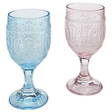 clara pressed glass goblets pier 1 imports easter pinterest