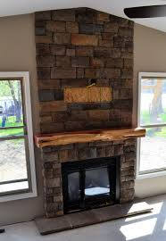 rustic mantels for stone fireplaces home design ideas