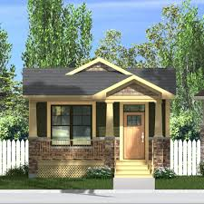 craftsman connaught 968 small bungalow house plans and on the side