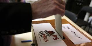 les bureaux de vote de la gauche les bureaux de vote ont ouvert