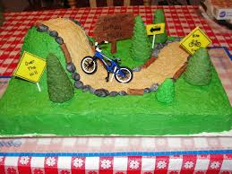 over the hill bike trail cake cakecentral com