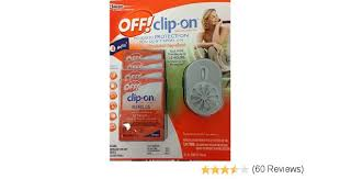 Off Backyard Spray Reviews Amazon Com Off Clip On Mosquito Repellent With 4 Refills