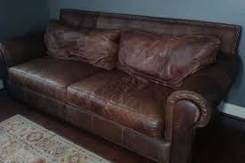 Man Cave Sofa by Brown Design Distressed Leather Sofa What Is A Distressed