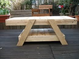 Table En Caisse En Bois Faire Ses Meuble En Palette Collection Avec Palettes En Bois Idaes