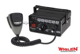 whelen 295sla6 electronic siren with pusuit switch and push buttons