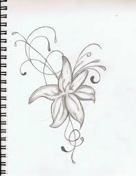 hibiscus flower tattoo outline pictures to pin on pinterest
