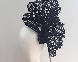 lace fascinator lace fascinator etsy