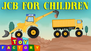 Jcb For Children Monster Jcb Trucks Jcb Video For Children