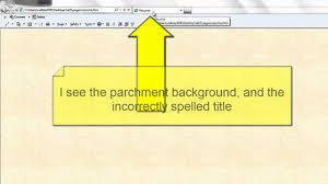 Css Resume Creating An Html Résumé Youtube