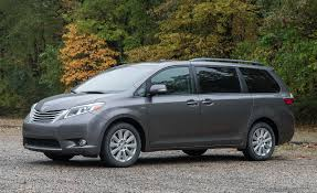 minivans top speed 2017 toyota sienna awd test u2013 review u2013 car and driver