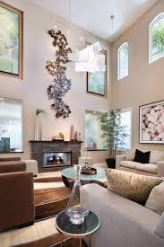 Decorating Ideas For High Ceiling Living Rooms Decorating Ideas For Large Walls Walls Decor