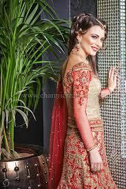 vintage wedding dresses red raw silk bridal lengha with