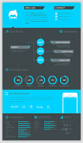 how to make an infographic resume 30 examples of creative graphic design resumes infographics