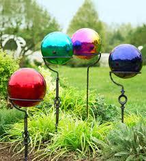Garden Gazing Globe Garden Gazing Balls Gardens And Landscapings Decoration