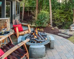 Wine Barrel Fire Pit Table by Wine Barrel Fire Pit Houzz