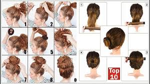 snap hair top 10 easy hair bun maker with snap