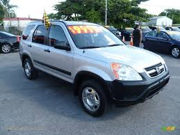honda crv for sale in florida 2003 honda cr v lx in satin silver metallic 106884 jax sports