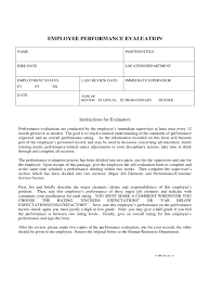 Resume Evaluation Employer Evaluation Form 2 Free Templates In Pdf Word Excel